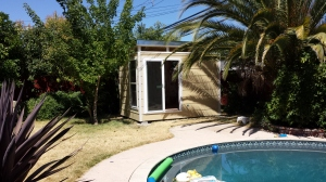 Todd from Sacramento was impressed with the professionalism of the Modern-Shed team.
