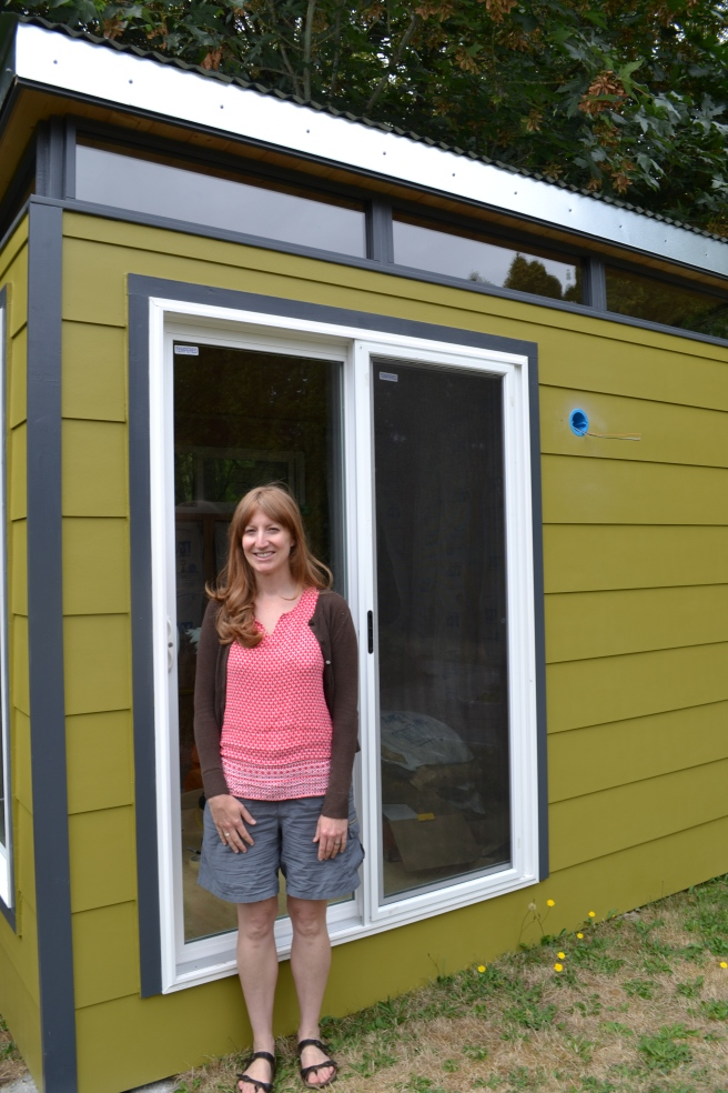 Tami works from home as a scientific illustrator and animator. She can't wait to work out of her Modern-Shed home office.