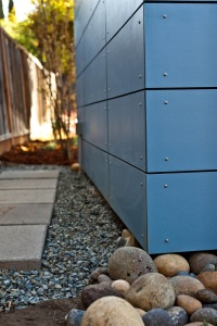 To protect against rain, snow, wind and more, Modern-Sheds can be built with rain-screen technology.