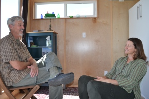 Burt and Debbie love spending time in their Modern-Shed guest room. Their kids prefer it to the house!
