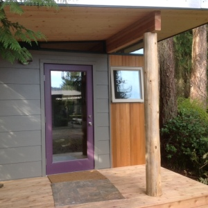Lin likes that Modern-Sheds can be designed to a customer's liking.