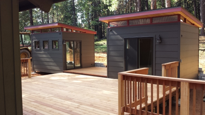 Twin studios in Yosemite
