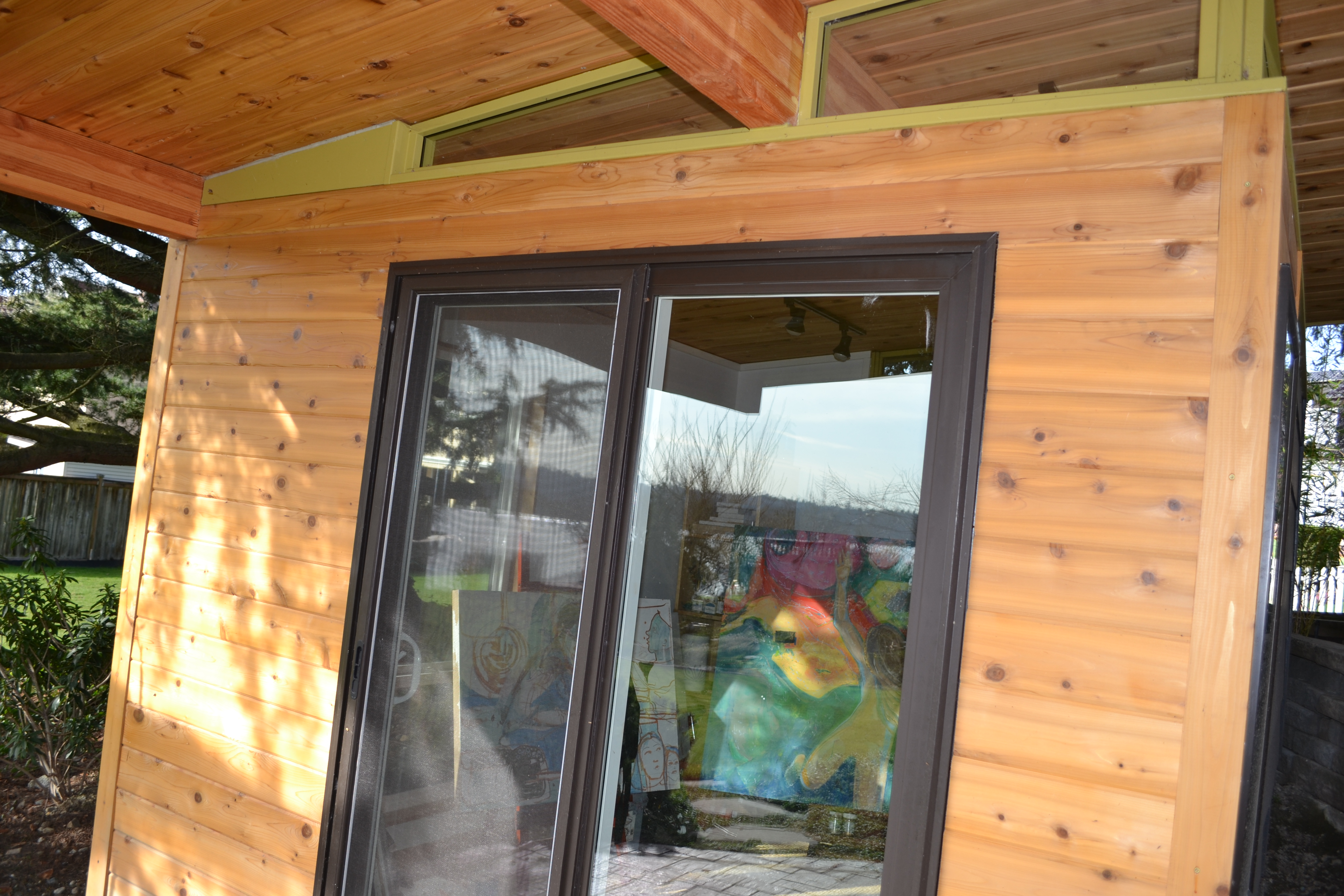 ^ he sauna shed