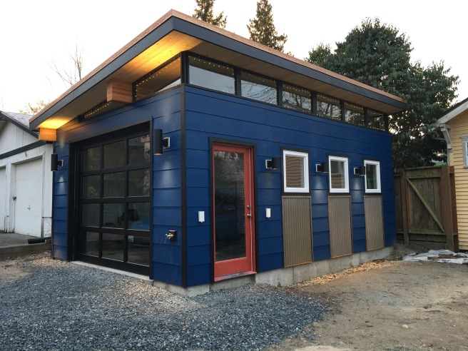 The Modern Shed Garage