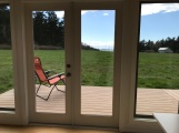 Room with a View: Room with a View: Judith's Modern-Shed has a view of the Straits of Juan de Fuca and other Lopez Island treasures