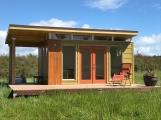 12' by 16' Modern-Shed