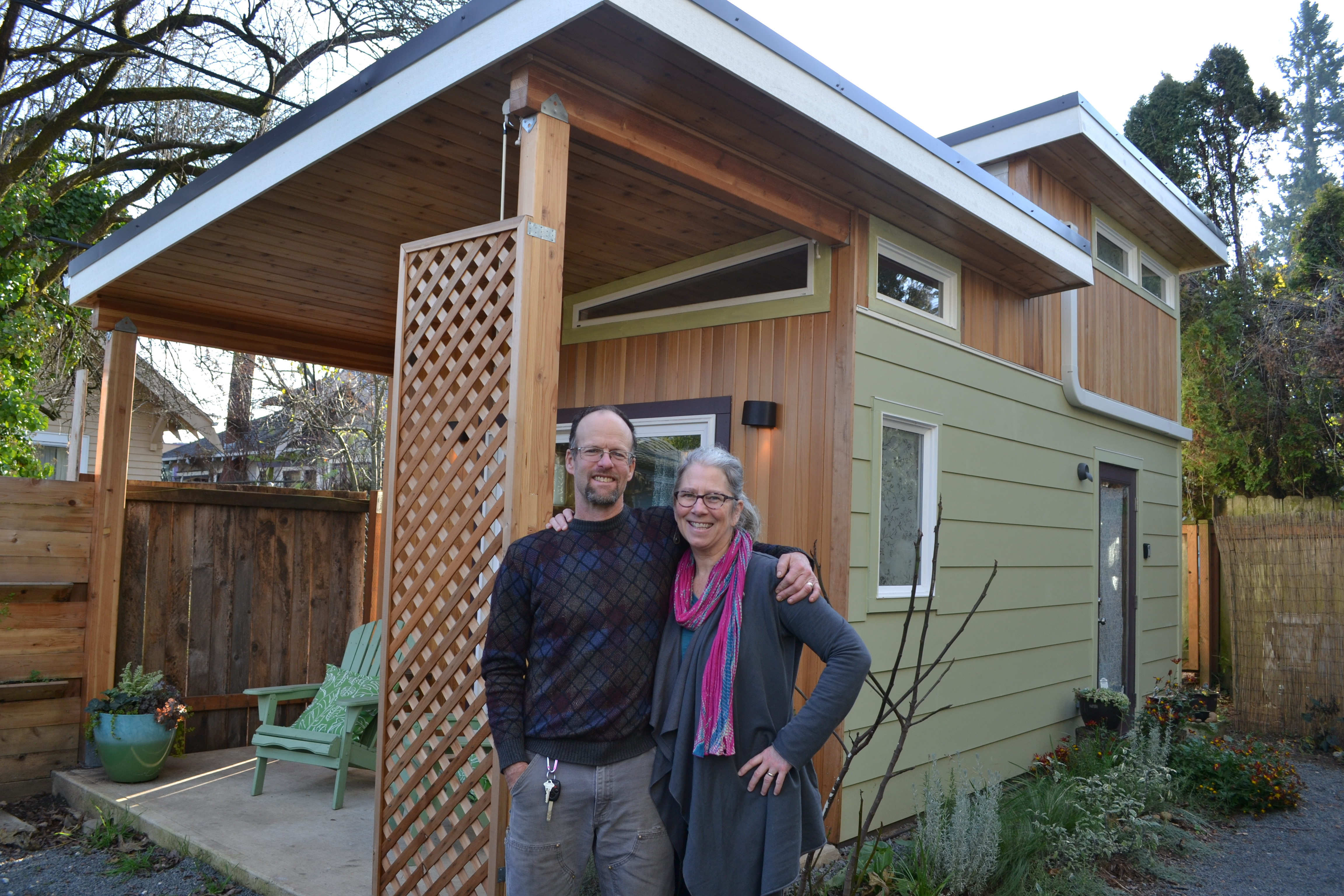 The modern shed tiny home