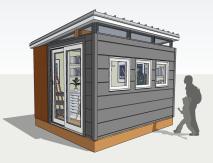 10x12 Art Studio (Exterior)