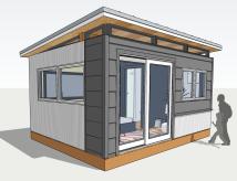 12x14 Guest Studio (Exterior)