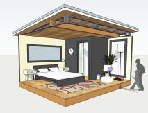 12x14 Guest Studio (Interior)