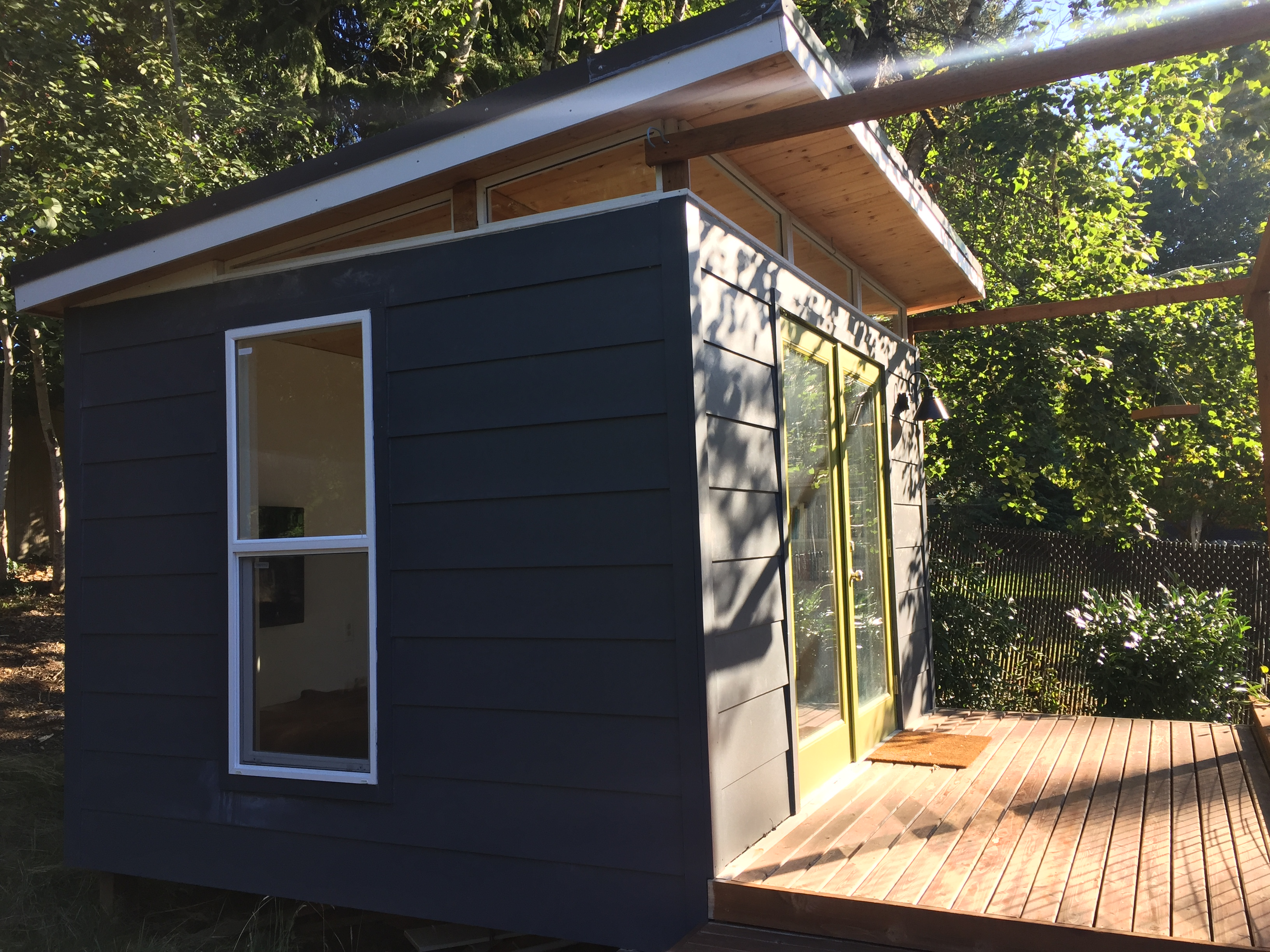 Being Able To Use The Angle Of The Sun For Light And Energy To Warm The Shed  Made A Difference To Her.